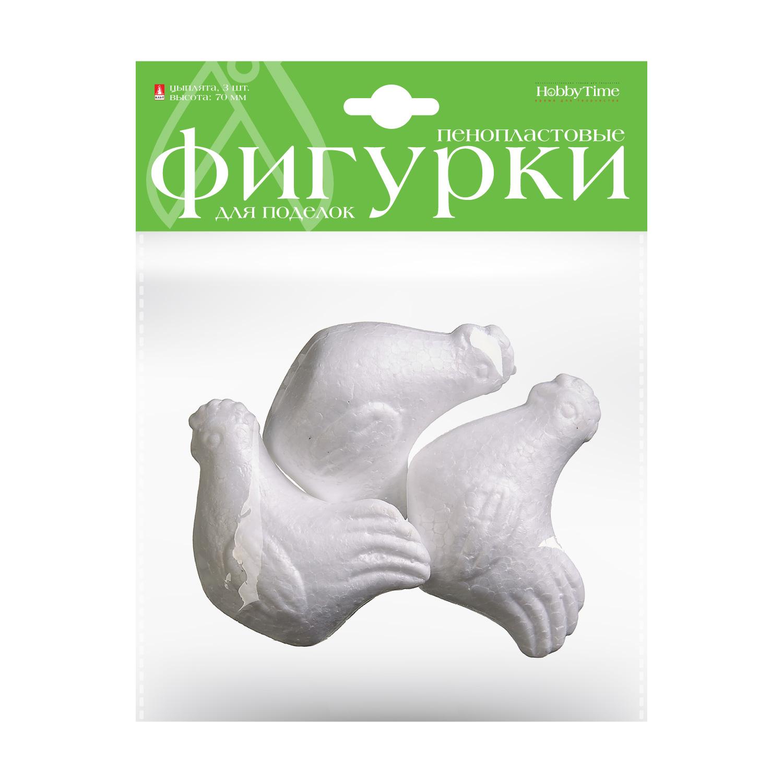 Заготовка пенопласт Цыплята 3шт 70мм