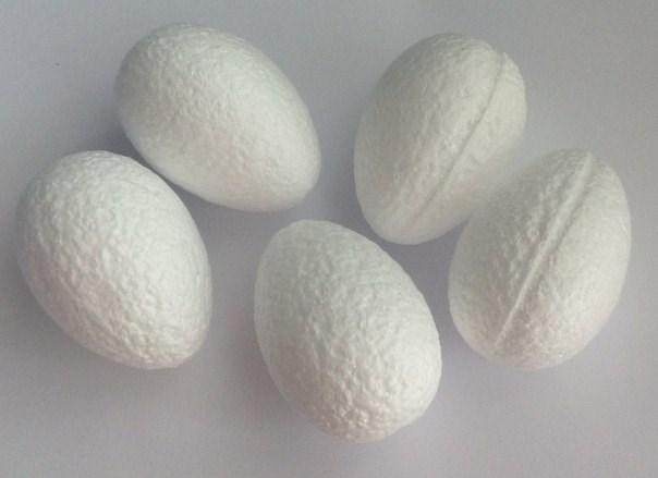 Заготовка пенопласт Яйцо 5*3,5см