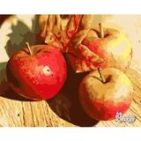 Рисование по номерам 40Х50 Осенние яблоки