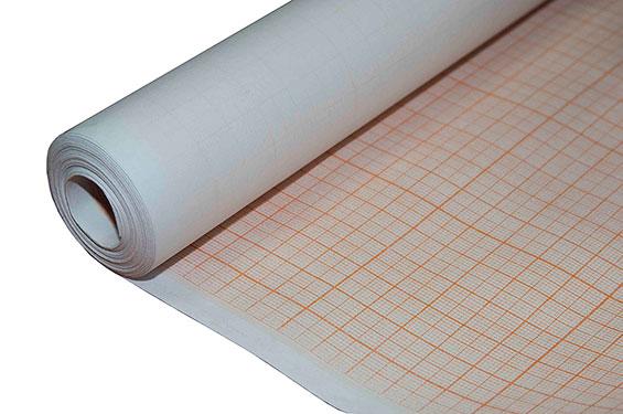 Бумага миллиметровая 878*20м в рулоне