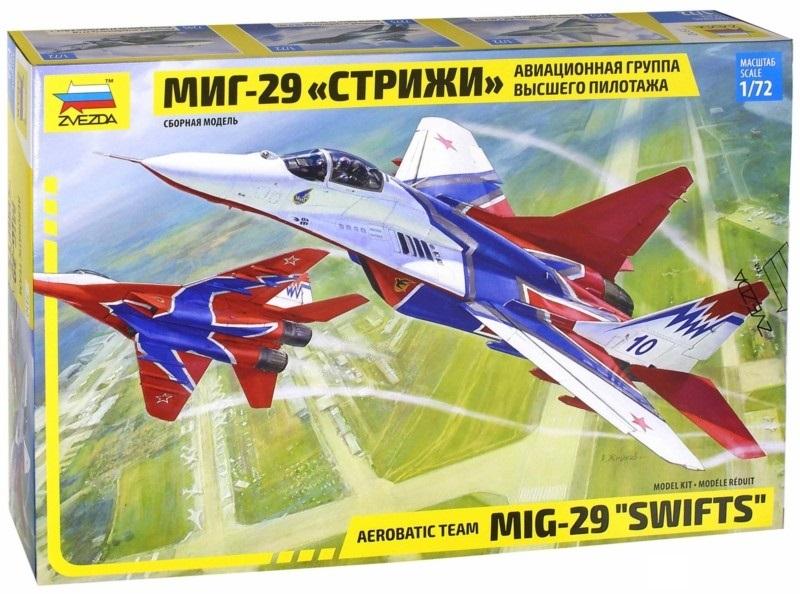 Сборная модель МиГ-29 Стрижи 1/72