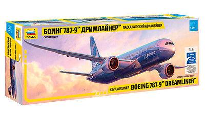 """Сборная модель Пассажирский авиалайнер """"Боинг 787-9 Дримлайнер"""""""