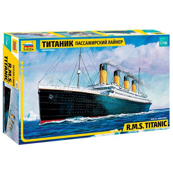 """Сборная модель Пассажирский лайнер """"Титаник"""" 1/700"""
