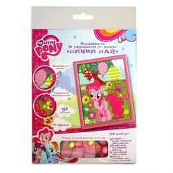 Вышивка и украшение по канве Пинки Пай My Little Pony