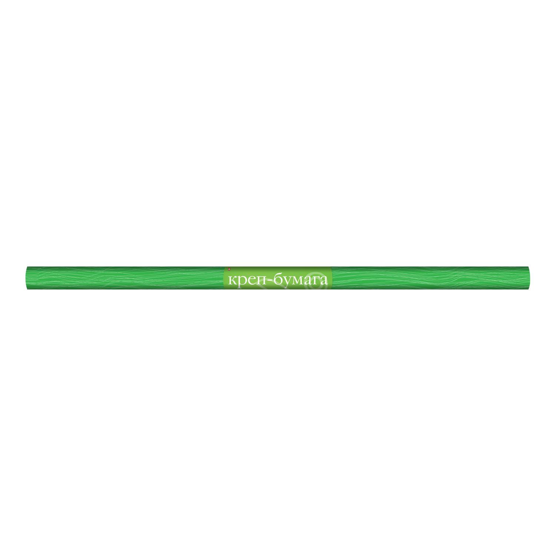 Бумага креповая 50*250см зеленая