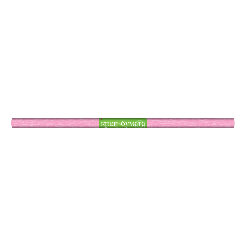 Творч Распродажа Бумага креповая 50*250см розовая