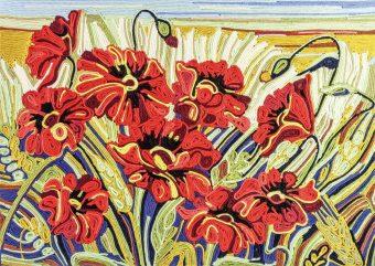 Ниткография Цветы
