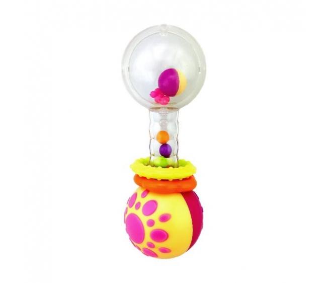 """Погремушка """"Звонкая гантелька с шариками"""""""