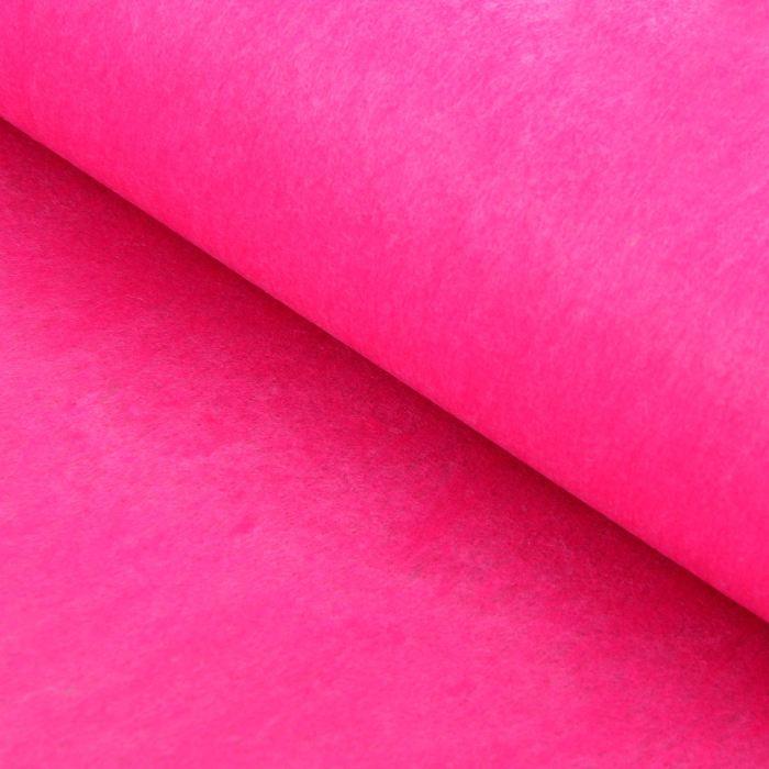 Фетр 50см Ярко-розовый (цена за 50см)