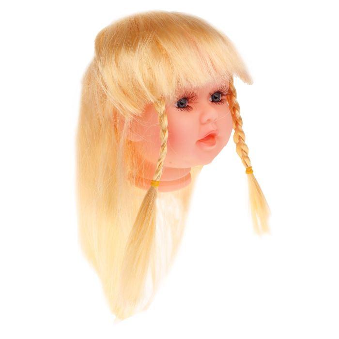 Волосы для кукол Косички большой размер Блонд