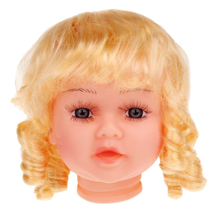 Волосы для кукол Локоны большой размер Блонд