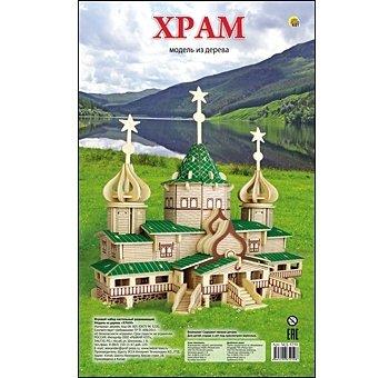 Сборная модель Храм (6 листов)
