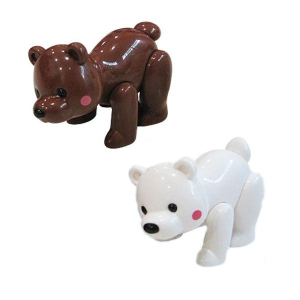 Развивающая Фигурка-крутилка Медведь в ассортим.