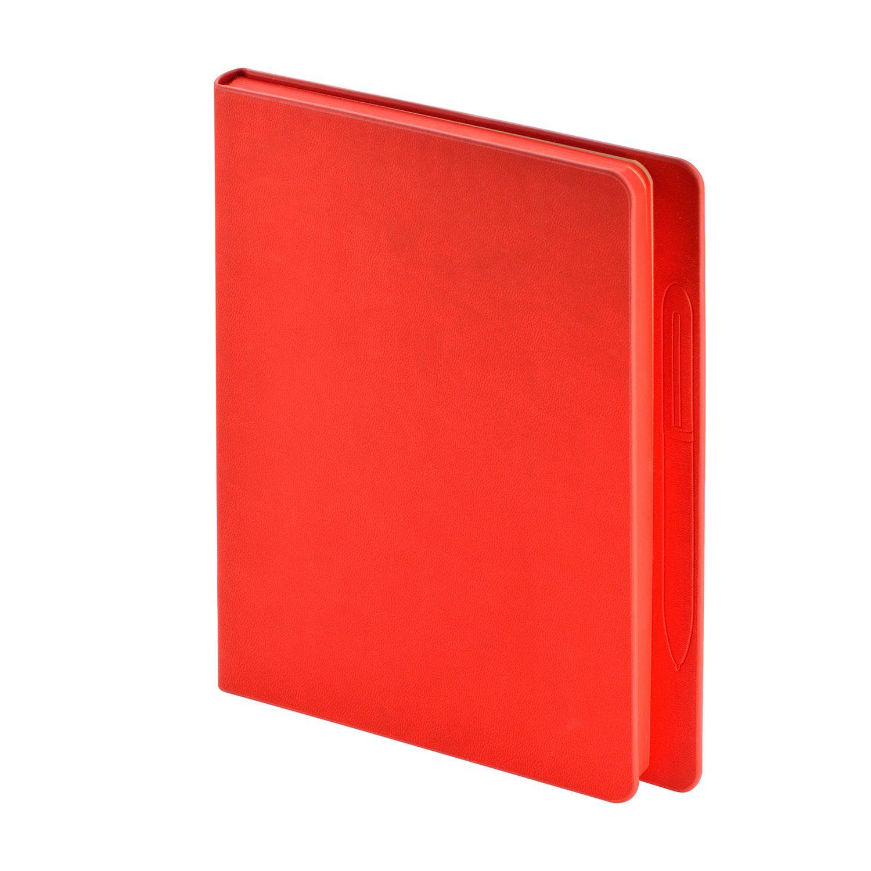 Ежедневник А5 BV Megapolis Magnet красный