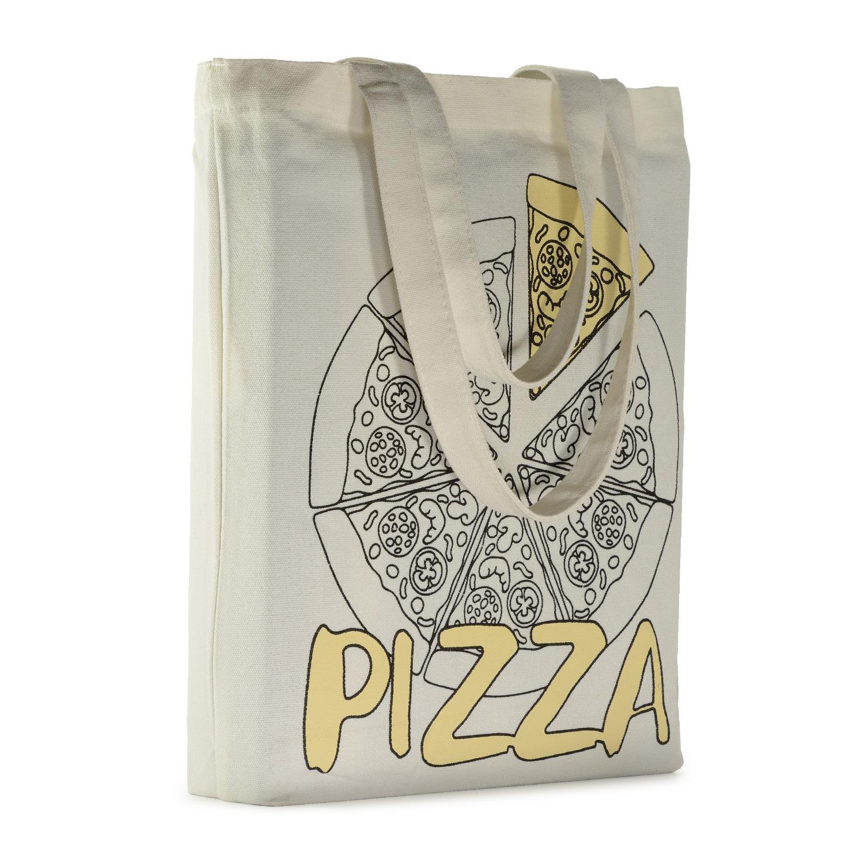 Сумка-шоппер BV White Pizza (34х36см)