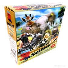 Пазл 63 Super 3D Африка селфи
