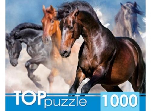 Пазл 1000 Toppuzzle Табун скакунов