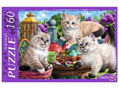 Пазл 160 Котята и сладости