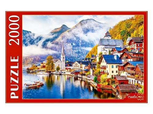 Пазл 2000 Австрия.Гальштат на рассвете