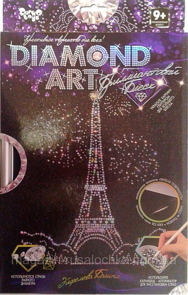 Творч Мозаика Diamond ART Эйфелева башня