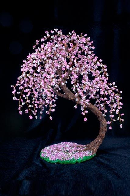 Бисерное дерево Сакура