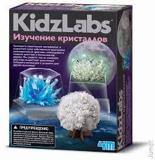 Набор для исследования Изучение кристаллов