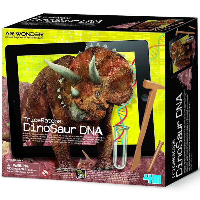Набор для исследования Оживи динозавра ДНК Трицераптоса