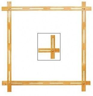 Творч Рамка для росписи ткани 95х95см. сосна