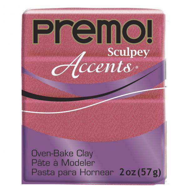 Пластик запекаемый Premo Accents розовый перламутровый 57г