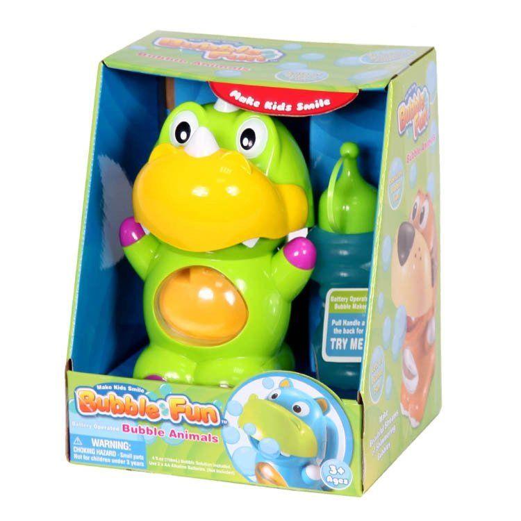 Мыльные пузыри Добрый динозавр 120мл + устройство