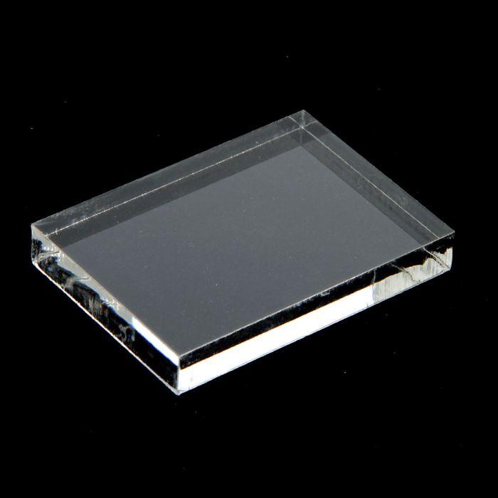 Акриловый блок для печатей 5х7х1см