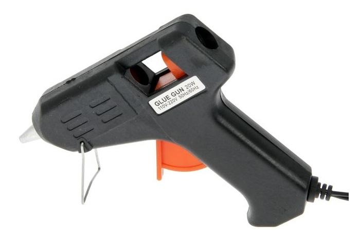 Клеевой пистолет 11х11см питание: сетевой, D стержня=7мм
