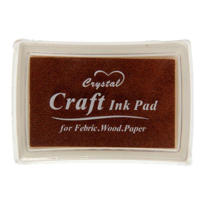 Штемпельная подушка Шоколадная 7,7х5,2х1,8 см
