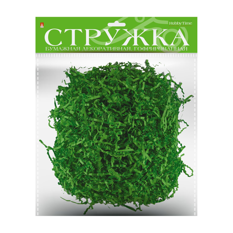 Творч Стружка бум гофр Зеленый 3мм 50гр