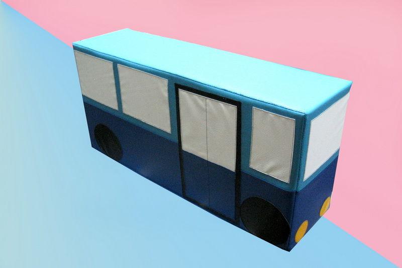 Мягкий модуль Автобус (1 модуль)