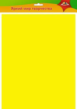 Фетр 50*70см желтый 1мм
