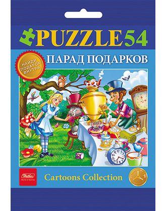 Пазл 54 Любимые сказки: Выпуск №3 (4 дизайна)