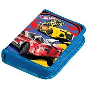 Пенал 1 отд полн Mattel Hot Wheels