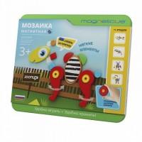Игра Мозаика магнитная Magneticus Зоопарк 47 эл