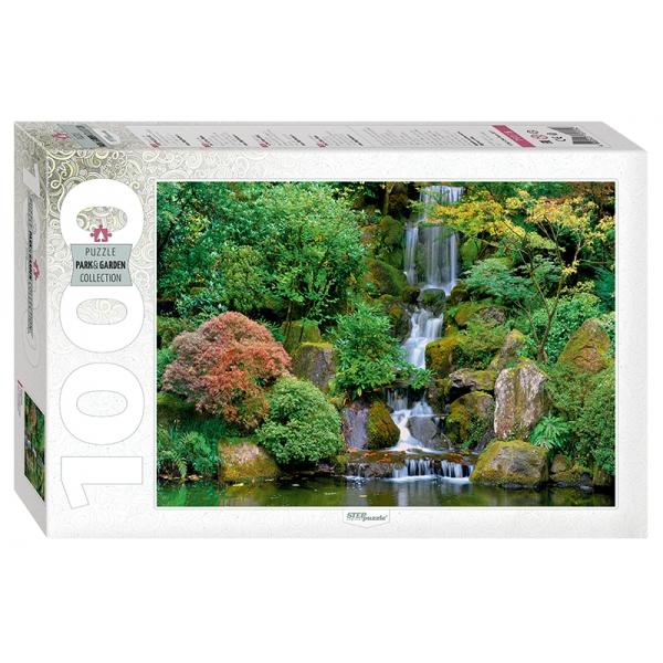 Пазл 1000 Step Водопад в японском саду