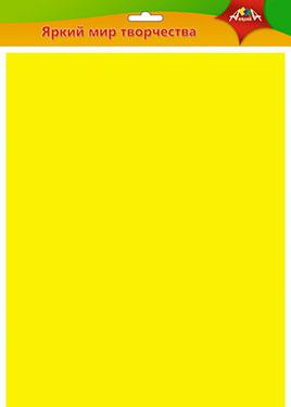 Фоамиран 50*70см Желтый 0,7мм