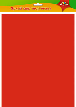 Фетр 1мм 50*70см красный
