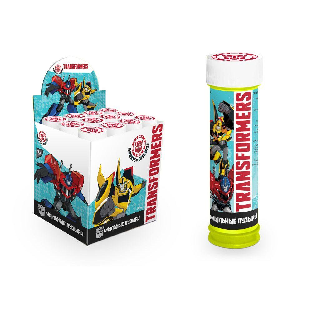 Мыльные пузыри 110мл Transformers в бутылочке