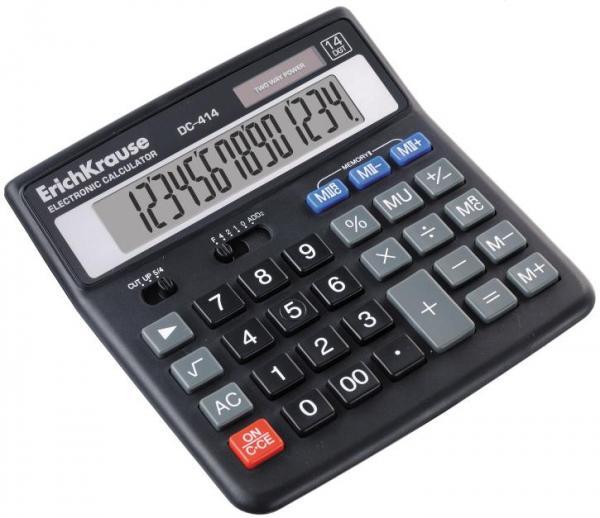 Калькулятор 14 разр. EK DC-414
