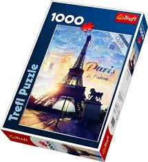 Пазл 1000 Trefl 10394 Париж на рассвете