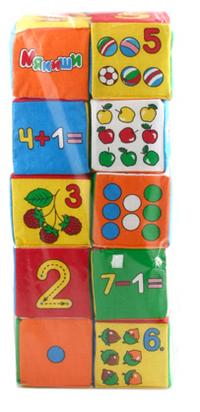 Кубики Мякиши: Умная математика