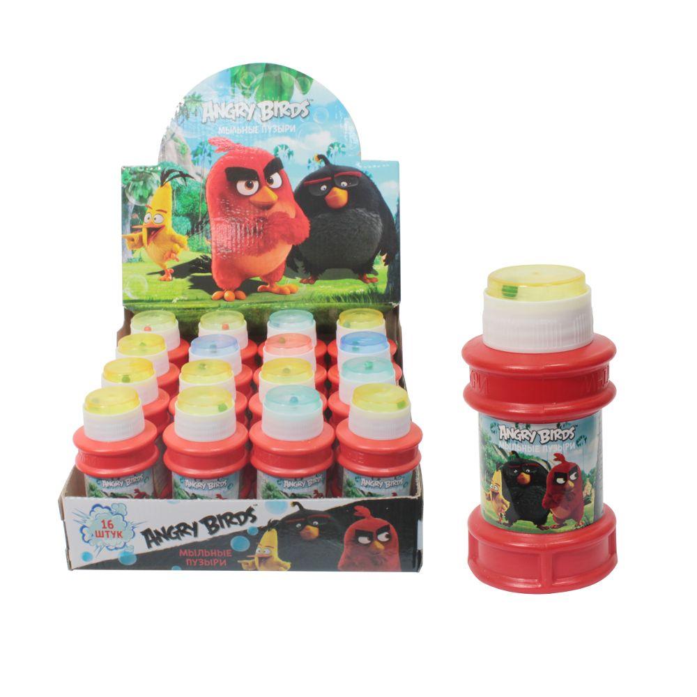 Мыльные пузыри 120мл Angry Birds