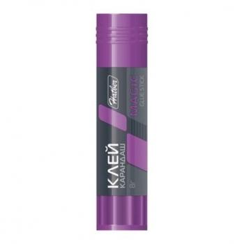 Клей-карандаш 8гр Hatber Magic цветной