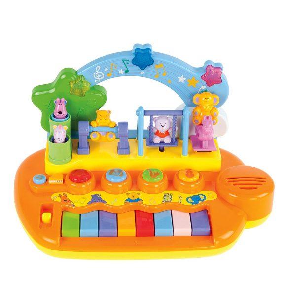 """Музыкальный центр """"Парк развлечений"""", 14 мелодий и зв. , животные на ка"""