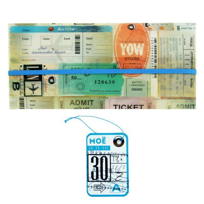 Конверт путешественника Билеты + бирка/чемодана